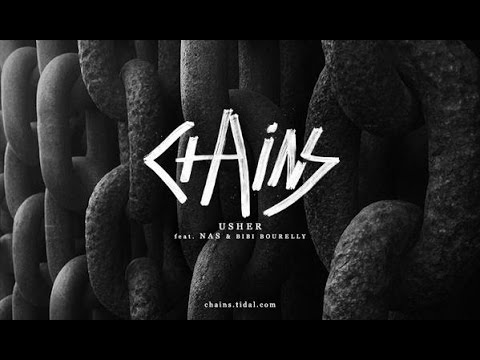 Usher Ft. Nas And Bibi Bourelly - Chains (lyrics)