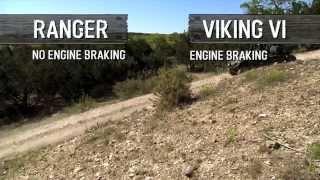 7. Yamaha Viking VI vs Ranger - Drivability