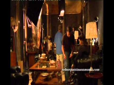 Little Ashes : Behind the scenes,Dinner scene,Robert pattinson