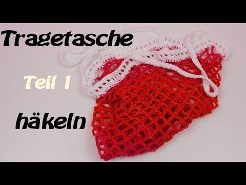 Häkeln Tasche – Sommer/Strand – Alles lässt sich verstauen – Teil 1/2