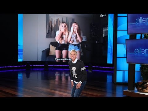 Ellen Puts Fans' Dance Skills to the Test