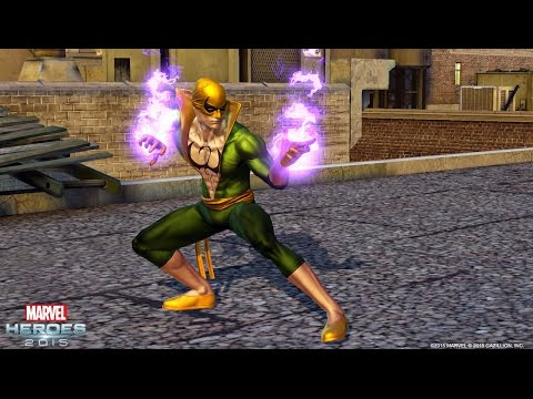 Play as Iron Fist in Marvel Heroes 2016!