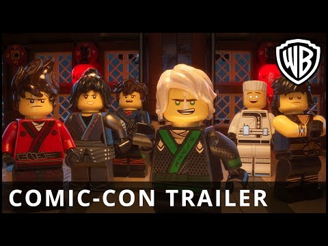 The Lego Ninjago Movie (Comic-Con Trailer)