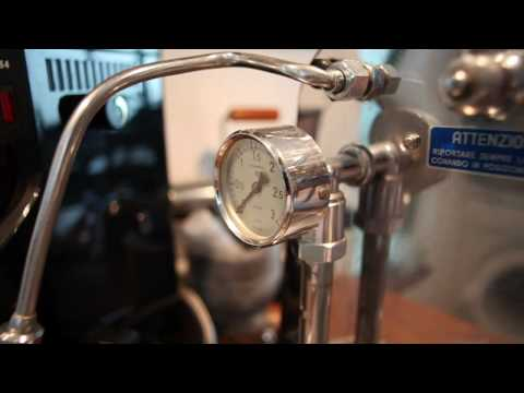 Faema President lever espresso machine under repair