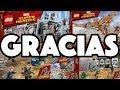 ¡TE REGALO LOS LEGO DE INFINITY WAR! / NAVY
