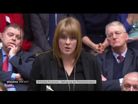 Fragestunde im britischen Parlament u.a. mit Theresa  ...