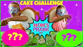 Magic Box Toys Collector presents: Blindfolded Cake Challenge -  Mom's Prank! Yes, you heard it right; our mom pranked us. We were doing cake decorating and what happened next really took us by surprise! Thanks Mom! Please tune in if you would like to find out what our mom did to us! Enjoy the show : )Thank you again for visiting and please don't forget to share this video with your friends and family : )SUBSCRIBE BUTTON:http://www.youtube.com/c/MagicBoxToysCollectorSurpriseToysSurpriseEggsPlayDohOrbeezHere are our other videos:SHOPKINS SURPRISE EGGS Shopkins Season 4 Sweet Spot Gumball Machinehttps://youtu.be/8zMECGvTPbYBIGGEST SURPRISE EGG Ever! Surprise Toys Eggs Shopkins My Little Pony Doc McStuffins Palace Petshttps://youtu.be/FNLljRlyyvoSURPRISE TOYS GIANT BALLOON POP GIVEAWAY WINNERS ANNOUNCEMENThttps://youtu.be/f02dWmqYwnkBABY ALIVE Snackin' Lily Baby Doll Eats Play-Doh Baby Alive Doll Picnic Brushy Brushy Baby Dollhttps://youtu.be/uxG9NP66IZEDOC McSTUFFINS Pet Vet New Toys Make Me Better Playset Hallie Gets a Color Changing Casthttps://youtu.be/qZ187FqMQWMSHOPKINS SEASON 4 12-Pack Shopkins Season 4 5-Pack Shopkins Season 4 Blind Basketshttps://youtu.be/tIGh0q2fCnkSOFIA THE FIRST Royal Family New Outfits SOFIA THE FIRST Royal Carriage * Carrosse Royalhttps://youtu.be/p9g67lam550MY LIFE AS a School Girl Doll * My Life as a Pop Star Play Set and Accesorieshttps://youtu.be/vPmz1Qfk5QILalaloopsy Girls Candle Slice O'Cake Frosting Dough Decorating Craft Doll * Style'N'Swap Dollhttps://youtu.be/HJTSlOpV6q4BABY ALIVE Better Now Baby Doll Goes to the Doctorhttps://youtu.be/__Bqnt72rU8MY LITTLE PONY POP FLUTTERSHY COTTAGE  My Little Pony RARITY DRESS SHOPhttps://youtu.be/BU3mhXRd0GESOFIA THE FIRST SURPRISE BACKPACK Sofia the First Shopkins My Little Pony Frozen Palace Petshttps://youtu.be/ZYytCIL9b4kBARBIE ORBEEZ SPA SALON STYLE BARBIE ENDLESS HAIR KINGDOM *Shopkins Season 4 Blind Basketshttps://youtu.be/AgyykfXmFigGiant Balloons Surprise Toys Challenge Pop Shopkins 
