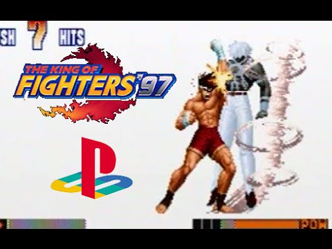 The King of Fighters '97 Playstation