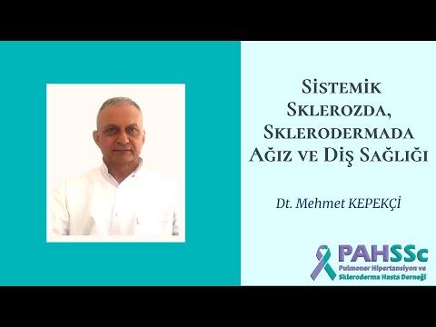 Dt. Mehmet KEPEKÇİ ile Sklerodermada Ağız ve Diş Sağlığı - 2020.12.24