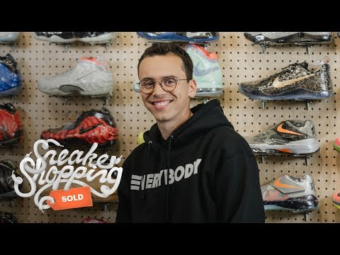 Logic Goes Sneaker Shopping With Complex