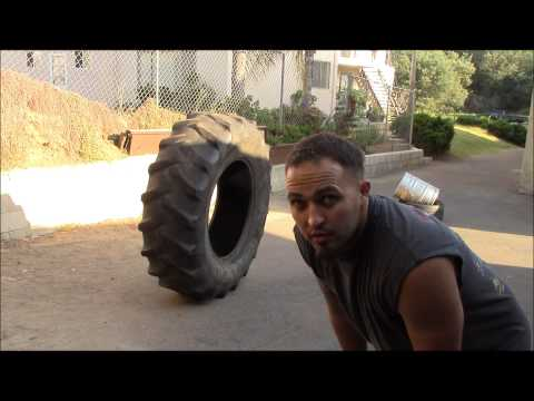 Metahuman Dave's Tire Workout And Exercise Examples