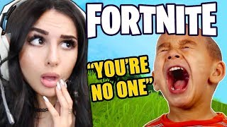 Video KID IS *MEAN* ON FORTNITE THEN FINDS OUT I'M A GIRL... MP3, 3GP, MP4, WEBM, AVI, FLV Maret 2019