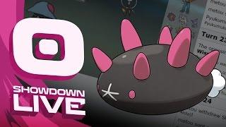Pokemon Sun and Moon! Showdown Live: Enter Pyukumuku - Pyukumuku Showcase! by PokeaimMD