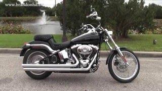 3. Used 2005 Harley Davidson FXSTD Softail Deuce