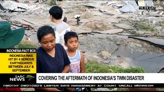 Video Covering the aftermath of Indonesia's twin disaster: Njanji Chauke MP3, 3GP, MP4, WEBM, AVI, FLV Oktober 2018