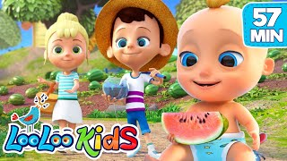 Video Down By the bay -  THE BEST Songs for Children | LooLoo Kids MP3, 3GP, MP4, WEBM, AVI, FLV Mei 2019