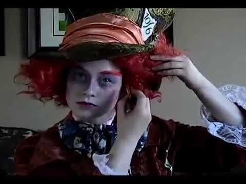 Maquillage du chapelier fou tutoriel