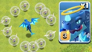 HOLY E-DRAGON RAID Clash Of Clans IS IT POSSIBLE