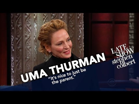 Uma Thurman Risks Stephen's Ire For Turning Down 'Lord Of The Rings'