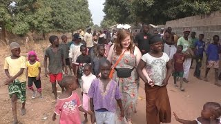 DMU students enjoy a field trip visiting The Gambia in Africa, with pioneering international experience programme #DMUglobal and charity Global Hands UK – le...