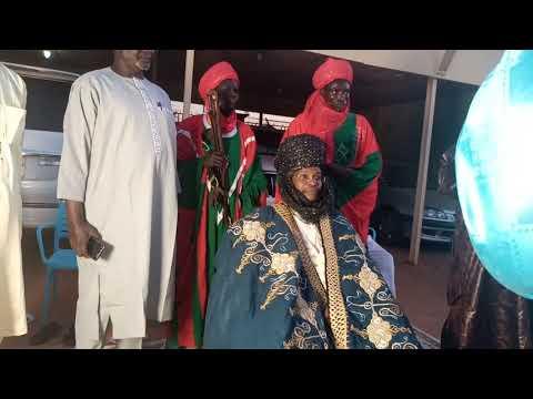le roi Nourou wallam du Niger