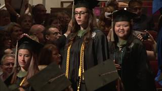 2018 school of public health and health professions commencement part one of three.