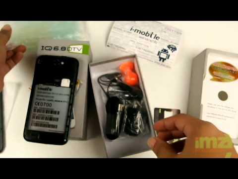 แกะกล่อง i-mobile IQ6.8 DTV