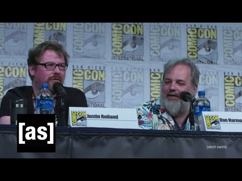Cthulhu in Season 4? | SDCC 2019 Rick and Morty Panel | adult swim