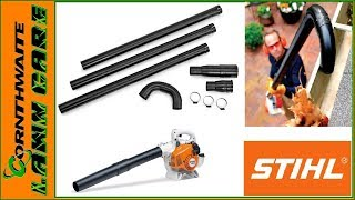2. Stihl Gutter Cleaning Kit Blower Attachment Unboxing and Review Lawntrepreneur