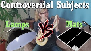 Con-Sub: Heat Lamps vs Mats by Snake Discovery