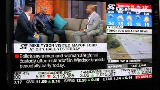 Mike Tyson Tells Off Canadian News Anchor In An Interview