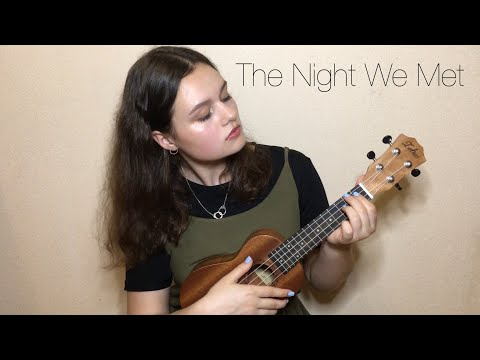 "Lord Huron- ""The Night We Met""- 13 Reasons Why (ukulele Cover)"