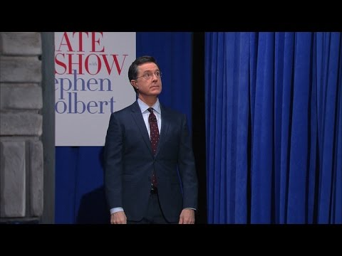 Stephen Colbert Makes A