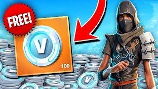 How to Earn FREE VBUCKS In Fortnite! + Giveaway