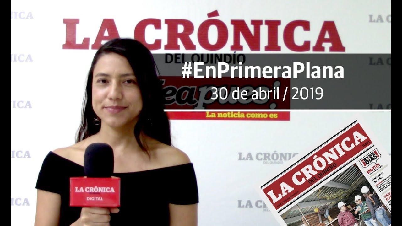 En Primera Plana: lo que será noticia este miércoles 1 de mayo