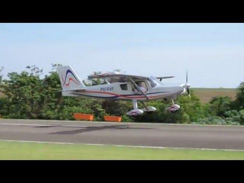 SSHN: Pouso (Landing) PELICAN PU-VVF em Iguaraçu (SSHN).