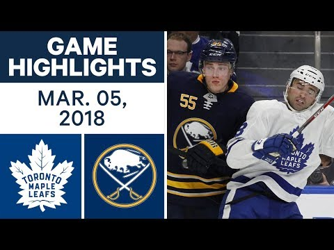 Video: NHL Game Highlights | Maple Leafs vs. Capitals - Mar. 05, 2018