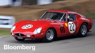 Nick Mason made his first fortune playing drums for Pink Floyd.His second came from racing old cars. Specifically, old Ferraris that today are among the most expensive cars on the planet.This weekend he took the star of his collection—a 1962 Ferrari GTO—flat out up the 1.16 mile track at the Goodwood Festival of Speed, about 60 miles south of London in the rolling South Downs National Park. The annual event has grown from a small, hillclimb race  to a full-on weekend of supercars from around the world.----------Like this video? Subscribe to Bloomberg on YouTube: http://www.youtube.com/Bloomberg?sub_confirmation=1Bloomberg is the First Word in business news, delivering breaking news & analysis, up-to-the-minute market data, features, profiles and more: http://www.bloomberg.comConnect with us on...Twitter: https://twitter.com/businessFacebook: https://www.facebook.com/bloombergbusinessInstagram: https://www.instagram.com/bloombergbusiness/