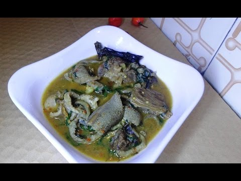 How To Make Nsala Soup | Nigeria Ofe Nsala (white soup)