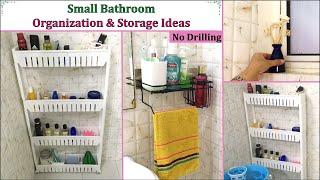 Bathroom Organization And Storage Ideas | Small Unfurnished Bathroom Organization | Her Fab Way