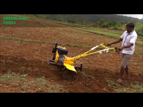 Diesel Inter-Cultivator / Power Tiller Machine (6 HP और 9 HP में उपलब्ध