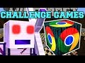 Minecraft Paper Boss Challenge Games  Lucky Block Mod  Modded Mini Game
