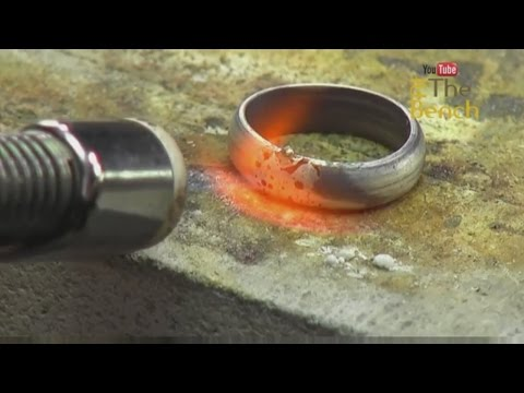 Making Your Own Silver Jewellery - How to Make and Solder A Silver Ring