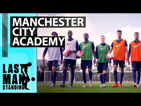 Last Man Standing: Wembley Doubles with MCFC academy