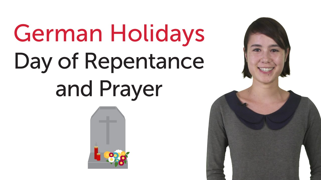 German Holidays – Day of Repentance and Prayer