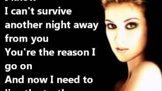 Video Celine Dion - I SURRENDER+LYRICS MP3, 3GP, MP4, WEBM, AVI, FLV Juli 2018