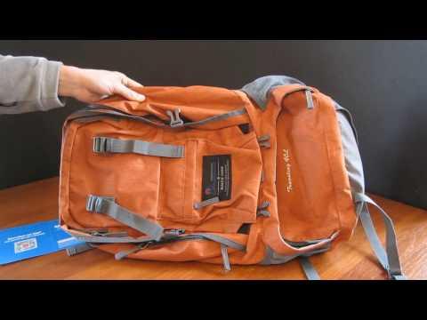 Отличный рюкзак с aliexpress. Рюкзак MOUNTAINTOP для поездок и путешествий объемом 40 литров (видео)