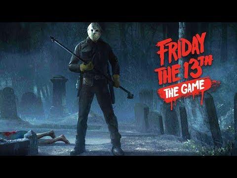 Friday the 13th: The Game - Джейсон с копьем убивает вожатых