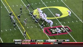 Levine Toilolo vs Notre Dame, Oregon, UCLA (2012)