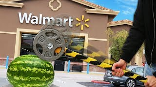 Video We Built Survival Weapons Using ONLY Items Found at Walmart!! MP3, 3GP, MP4, WEBM, AVI, FLV Juli 2019